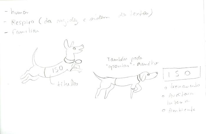 estudos de mascotes isopex