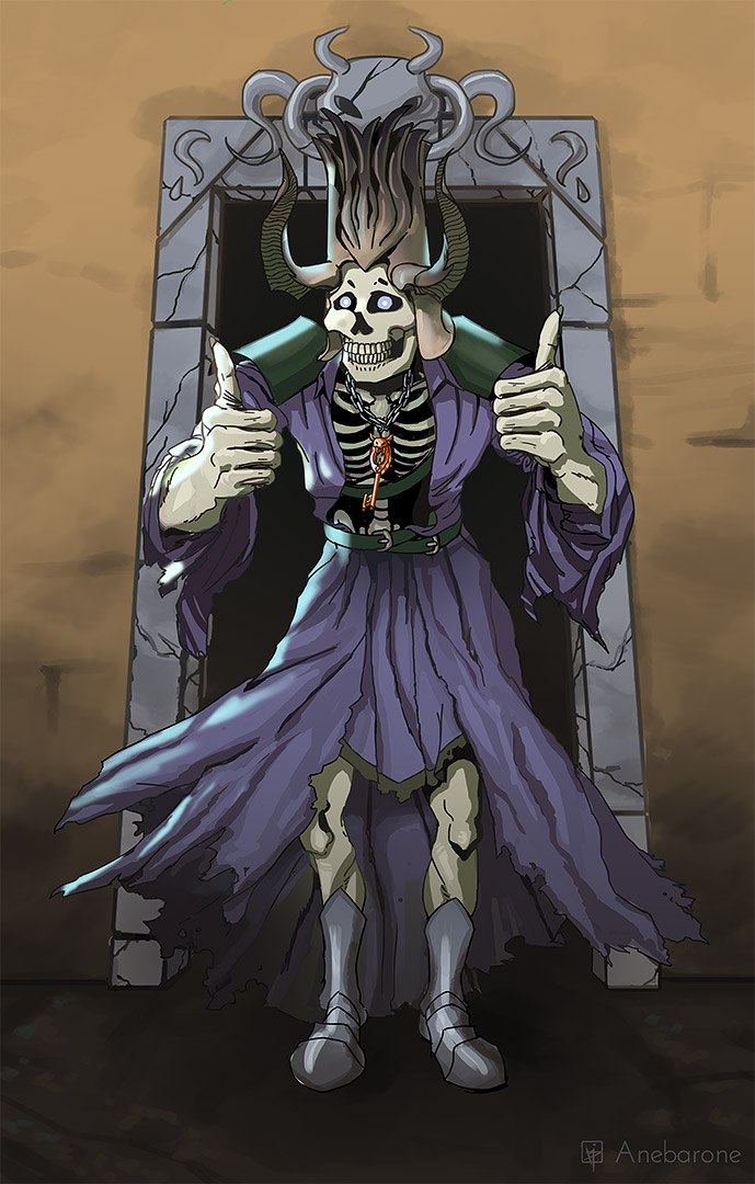 dungeons and dragons lich fanart