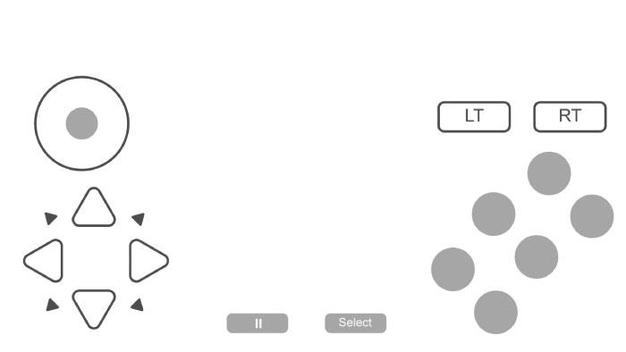 Interface | Redream's Android Controls | Anebarone - Ilustradora